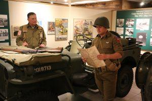 Re-enactors at the Museum