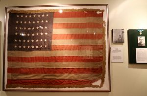 Ste Mere Eglise Flag, Normandy, WWII