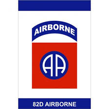 82d Airborne Division All American garden flag 82nd Airborne
