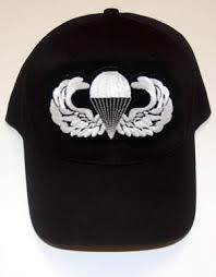 Black Hat with Novice Jump Wings