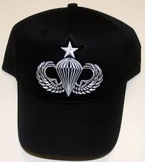 Black Hat with Senior Jump Wings