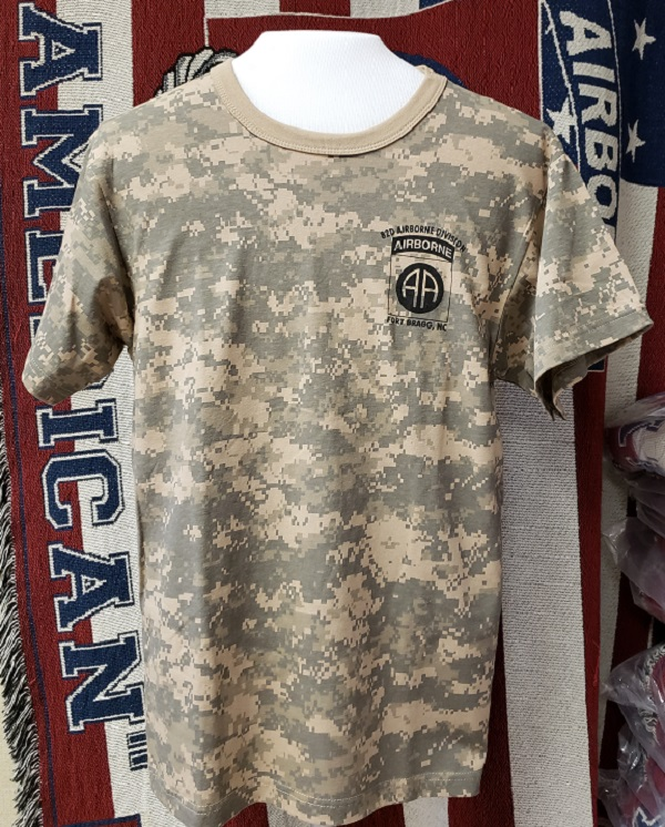 Digital Camo With Left Chest Patch shirt - 82nd Airborne Division Museum 06f741b36