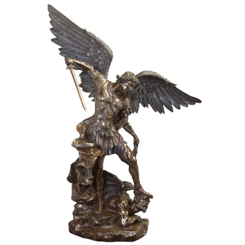 St Michael Bronze Resin Statue 82nd Airborne Division Museum