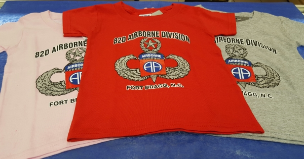 82d Airborne Embroidered Red Football Jersey - 82nd Airborne ... 6adffee2a