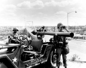 82d Secures Duarte Bridge, Dom Rep 1965