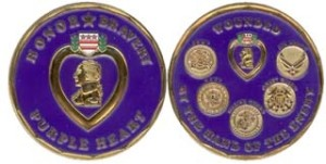 coin purple heart