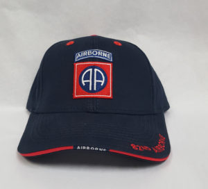 82D RED AND BLUE HAT FRONT