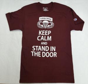 keep calm short sleeve tee