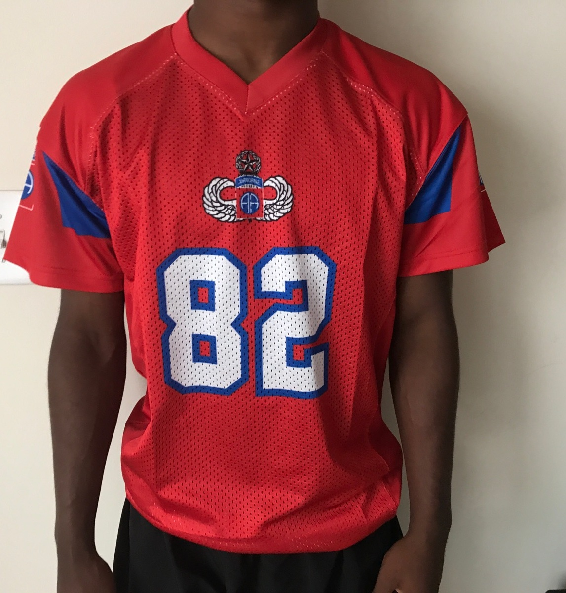 82D ABN Football Sublimation Jerseys - 82nd Airborne Division Museum a72176d5a